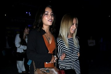 Ashley Tisdale Ashley Tisdale And Vanessa Hudgens Attend Selena Gomez's Concert