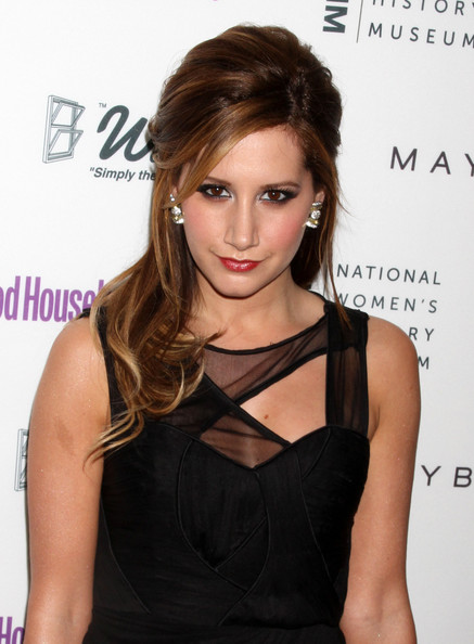 Ashley Tisdale Celebrities attend Good Housekeeping's Shine On Awards show in New York City.