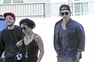 Austin Butler Vanessa Hudgens & Austin Butler Go To Church In Hollywood
