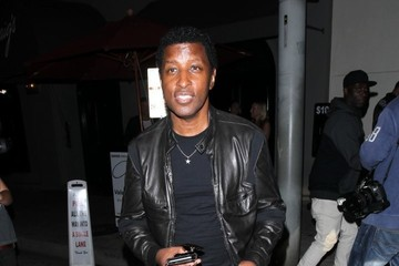 Babyface Celebs Dine Out at The Nice Guy