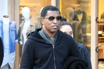 Babyface Babyface Shops With His Wife at The Grove