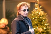 Barry Manilow Leaving His Hotel In New York City
