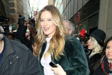Behati Prinsloo Celebrities Appear on the 'Today' Show