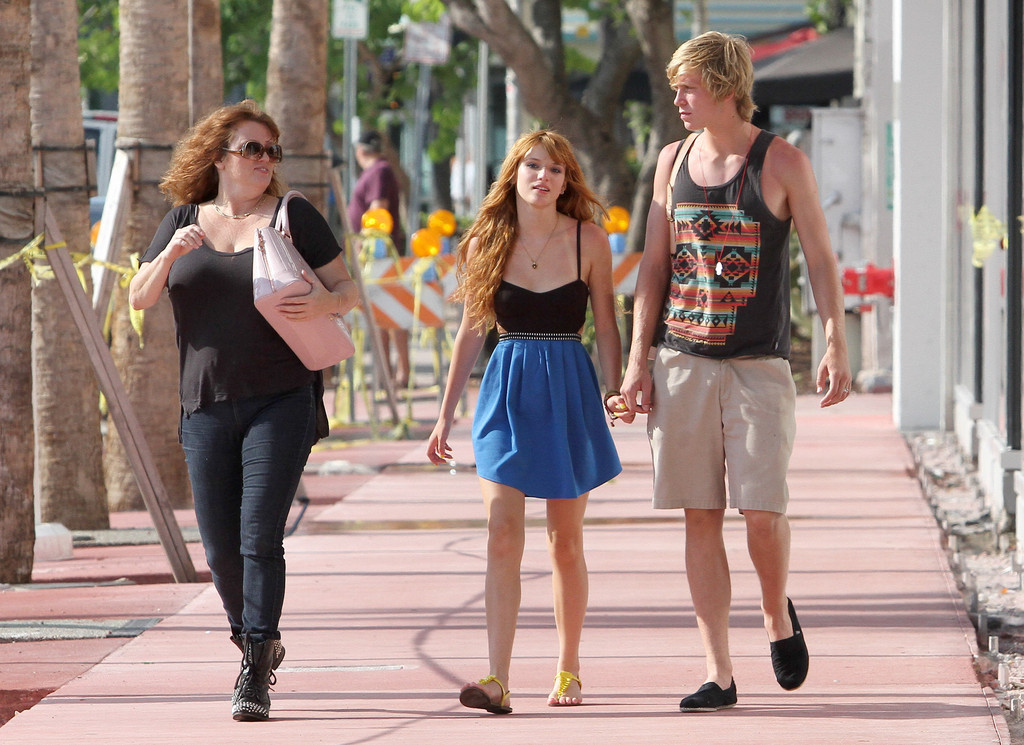 Bella Thorne in Bella Thorne Out in Miami with Her ...