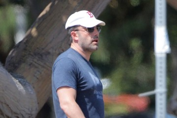 Ben Affleck Ben Affleck Out in Santa Monica With His Daughters