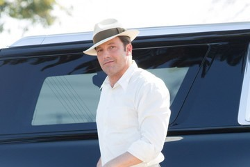 Ben Affleck Ben Affleck On The Set Of 'Live By Night'