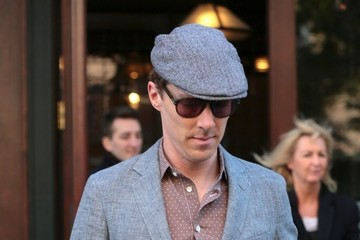Benedict Cumberbatch Benedict Cumberbatch Leaves His Hotel