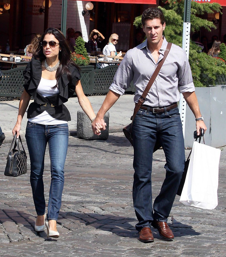 pin jason hoppy out for a stroll with his family