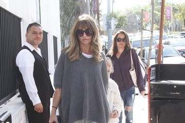 Billie Dane Rebecca Gayheart Out In LA