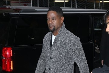 Blair Underwood Celebrites On 'Good Morning America' In NYC