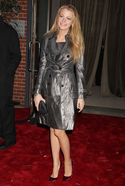 Blake Lively Celebrities at the 7th Annual CFDA/Vogue Fashion Fund Awards at Skylight SOHO in New York City, NY.