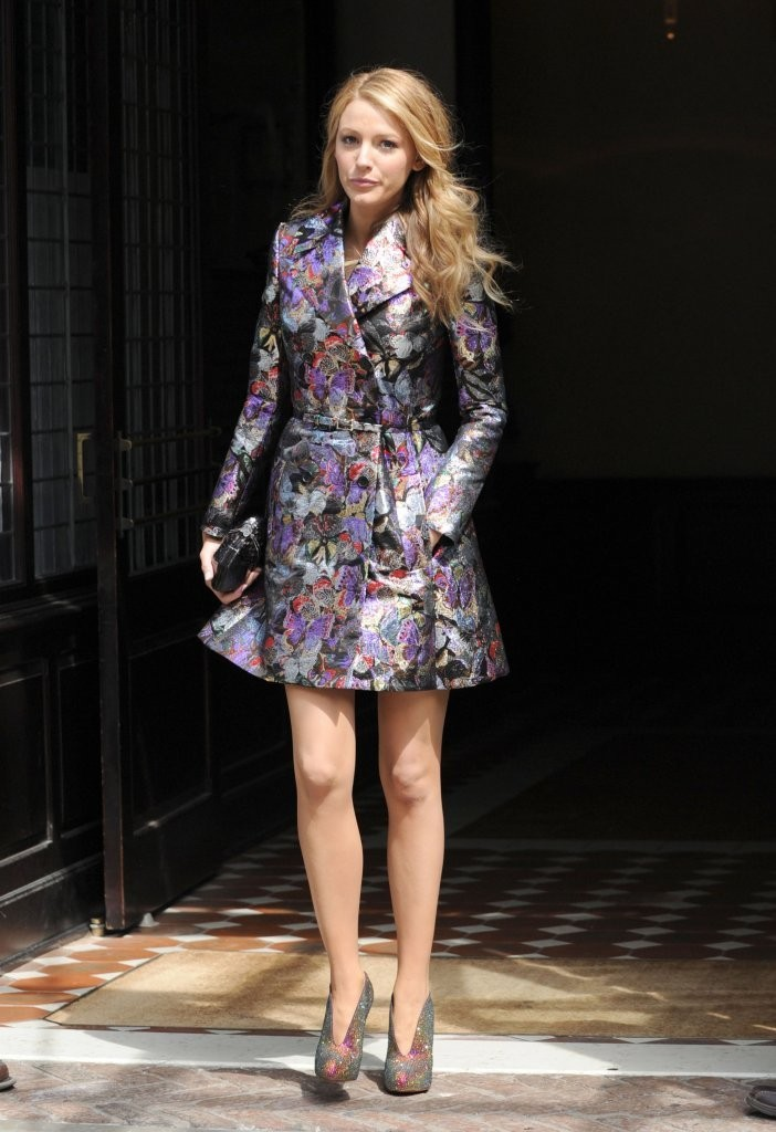 Blake Lively Shines in NYC