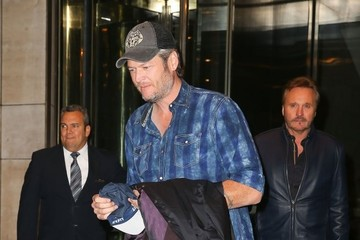 Blake Shelton Blake Shelton Spends Time in NYC
