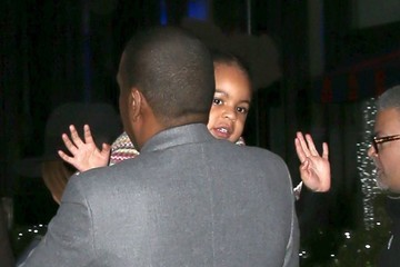 Blue Ivy Carter Beyonce and Jay Z's Family Movie Night