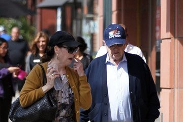 Bob Newhart Bob Newhart Goes Shopping in Beverly Hills with His Wife