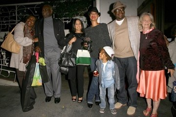 Bobby Brown Alicia Etheridge Celebs Get Dinner at Madeo