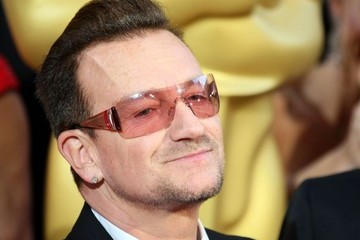 Bono Hairstyles at the 86th Annual Academy Awards