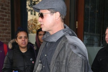 Brad Pitt Brad Pitt Steps out in NYC