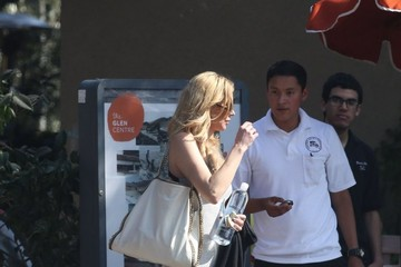 Brandi Glanville Brandi Glanville and Darin Harvey Do Lunch