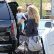Brandon Jenner Brandon Jenner and His Family Go Shopping in Malibu