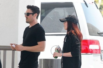 Brian Austin Green Megan Fox Grabs Lunch With Her Husband