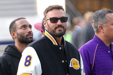 Brian Austin Green Celebrities Attend Kobe Bryant's Last Game as a LA Laker