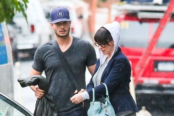 Brian Hallisay Jennifer Love Hewitt and Brian Hallisay Leave Their NYC Hotel