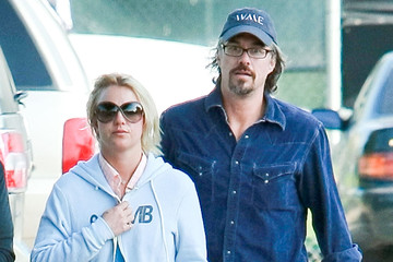 Britney Spears Jason Trawick Britney Spears And Jason Trawick Arriving For Son Sean's Baseball Game