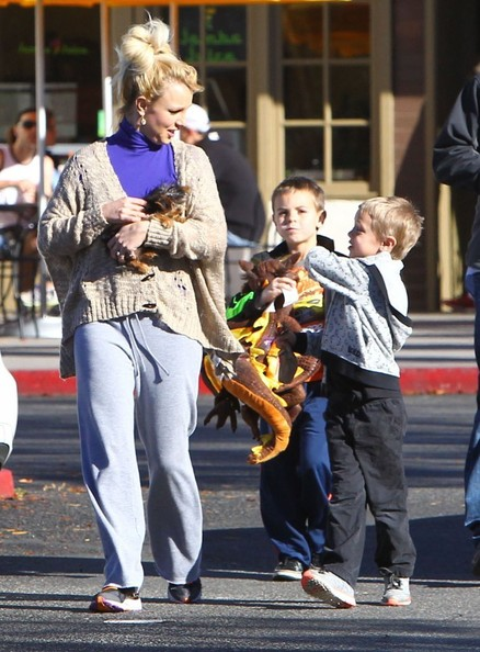Saturday: Britney Spears and Sons