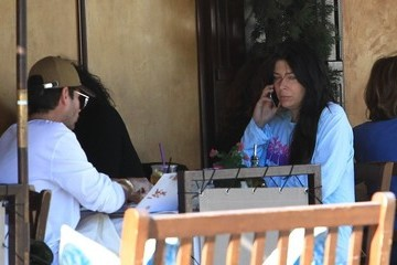 Brittny Gastineau Brittny Gastineau Has Lunch With A Friend In Beverly Hills