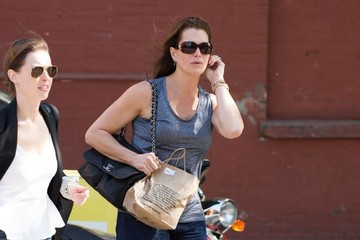 Brooke Shields Brooke Shields Out and About in NYC