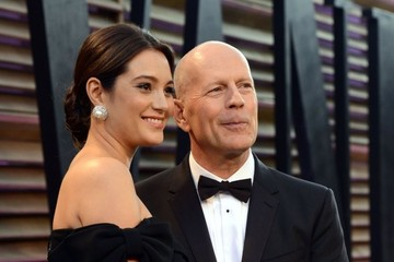 Bruce Willis The 2014 Vanity Fair Oscar Party