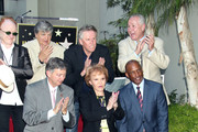 Celebrities attending the Hollywood Walk Of Fame Ceremony for musician Buddy Holly in Hollywood, CA.