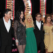 Christina Aguilera and Peter Gallagher Photos