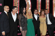 Christina Aguilera and Peter Gallagher Photos Photo