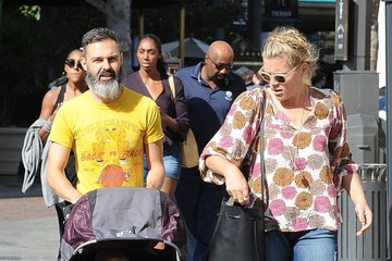 Busy Philipps Marc Silverstein Busy Philipps & Family Out Shopping At The Grove