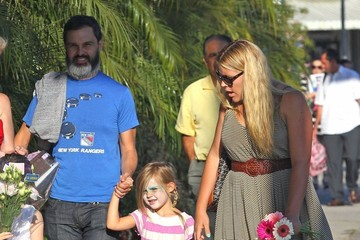 Busy Philipps Marc Silverstein Busy Philipps Leaves Her Daughter's Ballet Class
