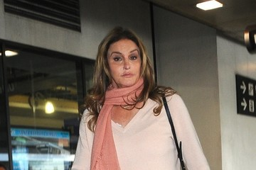 Caitlyn Jenner Caitlyn Jenner Touches Down at LAX Airport
