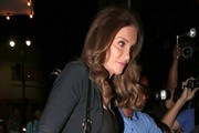 Caitlyn Jenner Goes out for Dinner at Beso