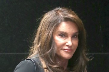 Caitlyn Jenner Celebrities Visit 'Good Morning America' In NYC