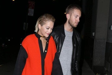 Calvin Harris Rita Ora Rita Ora & Calvin Harris Enjoy A Night Out In NYC