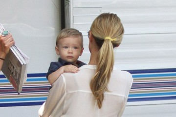 Camden Cutler Kristin Cavallari Takes Her Son to Work