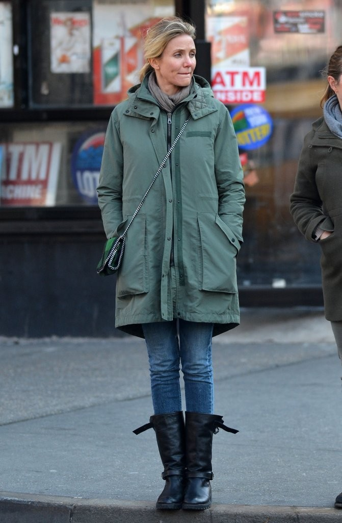 Cameron Diaz - Cameron Diaz Out With A Friend In NYC