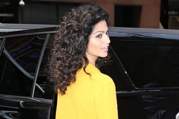 Camila Alves Celebrites At 'The Today Show' In NYC