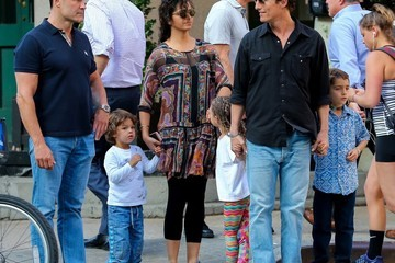 Camila Alves Levi Mcconaughey Matthew McConaughey and Camila Alves Are Seen With Their Children in NYC