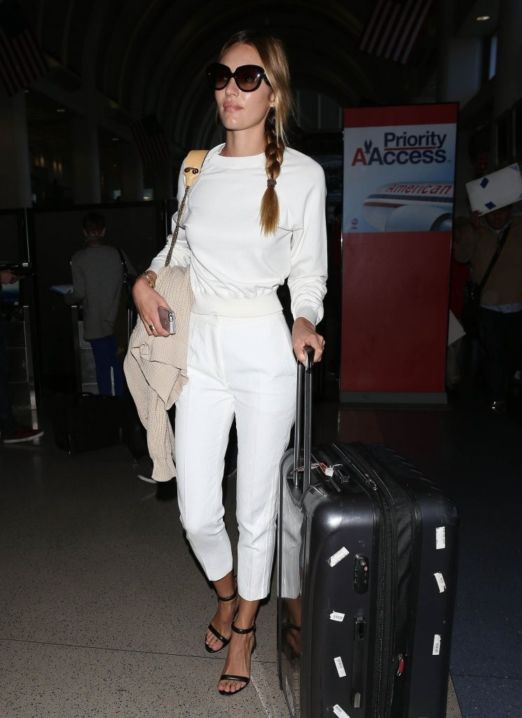 Candice Swanepoel Leaves LA 2