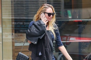 Candice Swanepoel Candice Swanepoel & Hermann Nicole Go For an Ultrasound in NYC