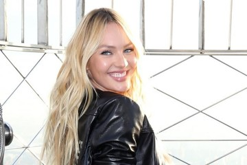Candice Swanepoel Candice Swanepoel Visits the Empire State Building
