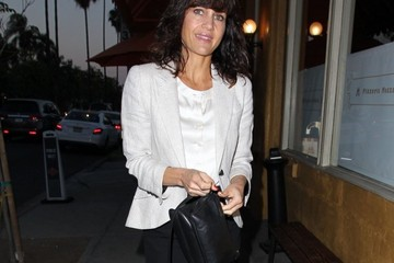 Carla Gugino Celebrities Dine Out at Craig's Restaurant