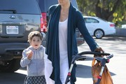 Carrie-Anne Moss and Frances Roy Photos Photo